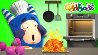 FIRE SAFETY - Oddbods New Episodes   Cartoon   Funny Cartoons For Children   The Oddbods Show