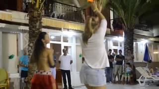 Erotic film / Tinto Brass / Belly Dance / Тинто Брасс Русская девушка танцует арабский танец