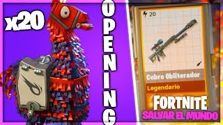 OPENING 20 💣 MILITARY FLAMES - FORTNITE SAVE THE WORLD