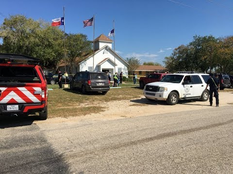 WATCH LIVE: Texas officials hold news conference with latest on mass church shooting