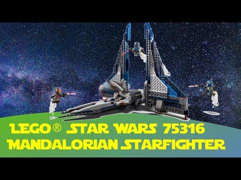 Mandalorian Starfighter Lego Star Wars 75316