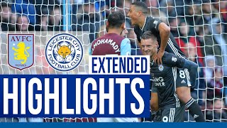 Aston Villa 1 Leicester City 4 | Extended Highlights | 2019/20