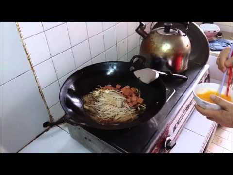 How to fried bee hoon 炒米粉
