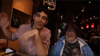Andy Milonakis & Ice Poseidon Hang Out ✘ Korean Restaurant in Hollywood - Part 1/3
