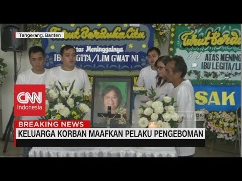 Pemakaman Korban Ledakan Bom Gereja, Keluarga Korban Tak Simpan Dendam
