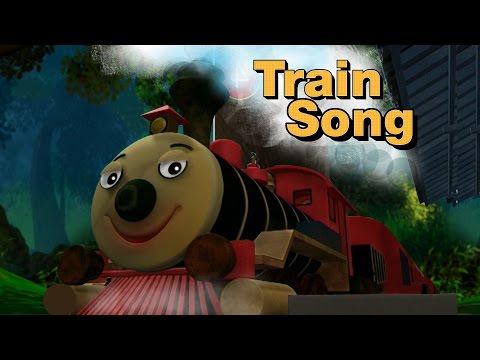 MANCHADi (manjadi) Train Song | malayalam cartoon animation kids' song