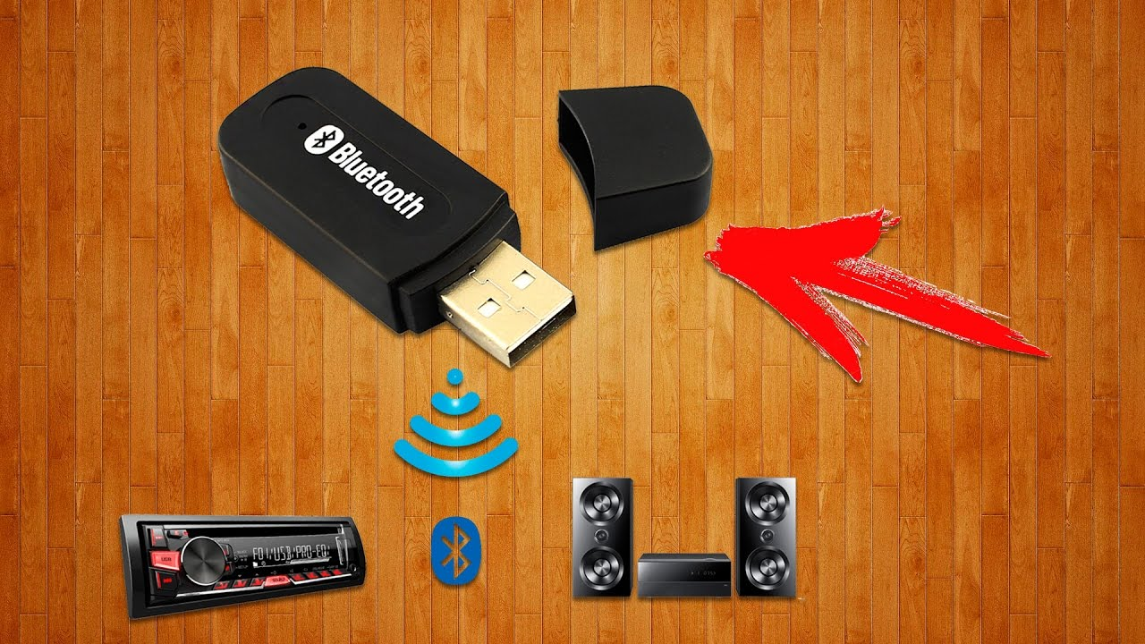 Bluetooth V2.0 Dongle Wireless Adapter - YouTube