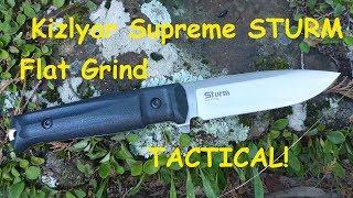 Kizlyar Supreme Sturm Tactical Knife Review