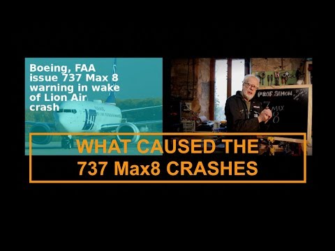 What is causing Boeing 737 max 8's to CRASH?