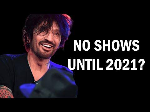 NO MORE TOURS UNTIL 2021!