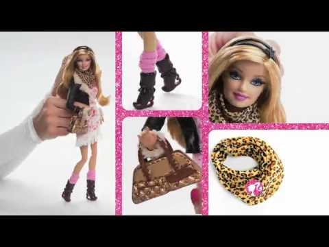 Bup be Barbie thoi trang dao pho B175/76/77