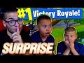 IF 9 YEAR OLD WINS THIS SOLO GAME I WILL GET JAYDEN A HUGE  SURPRISE  FORTNITE BATTLE ROYALE