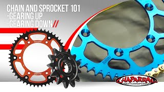 Chain and Sprocket 101 - Gearing Up - Gearing Down - Finding the Best Gear Ratio