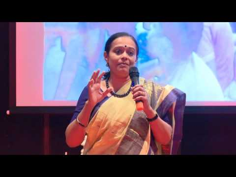 How I changed Slum Children's Abusive slang to Scientific Jargon | Beena Rao | TEDxNirmaUniversity