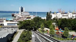 Одесса 2019. Вид на Морской вокзал.