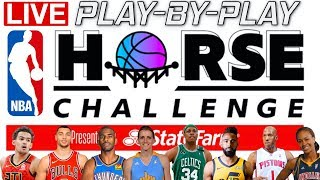 NBA Horse Challenge | Live Play-By-Play & Reactions