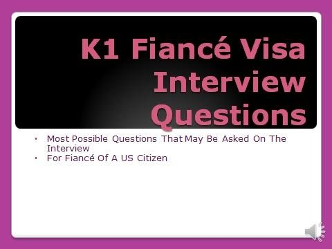 K1 Visa Interview Questions: Tips and Guide - YouTube