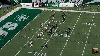 Madden NFL 20 NY Giants vs NY Jets Week 10 LIVE STREAM
