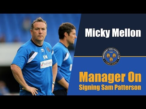INTERVIEW: Micky Mellon On Signing Sam Patterson