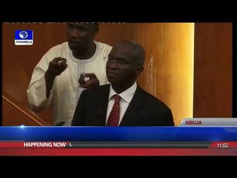 Ministerial Screening: Senate Drills Fmr Lagos State Governor; Fashola Pt 1