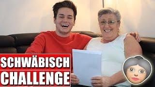 SCHWÄBISCH CHALLENGE MIT UNSERER OMA ! 👵😂 Schinken Brothers