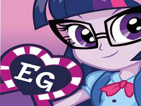 My Little Pony Equestria Girls /Мои маленькие пони.Девочки из Эквестрии  игра как мультик