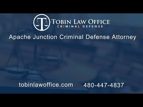Apache Junction Criminal Defense Attorney Tim Tobin