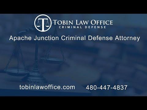 Apache Junction Criminal Defense Attorney Tim Tobin