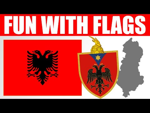 Fun With Flags - Albania