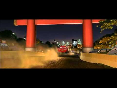 Carros 2 Corrida No Japao Youtube