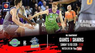 2019-20 BBL Championship: Manchester Giants v B. Braun Sheffield Sharks - 16 February 2020
