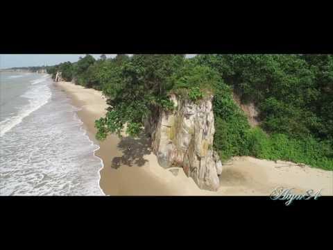 Peliau Beach Bekenu Miri Sarawak Malaysia.