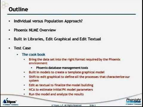 Phoenix NLME Software Overview 1 of 2