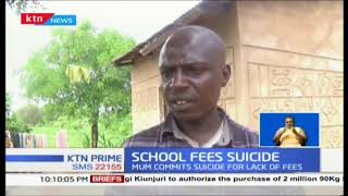Girl whose mother committed suicide for lack school fees finds help