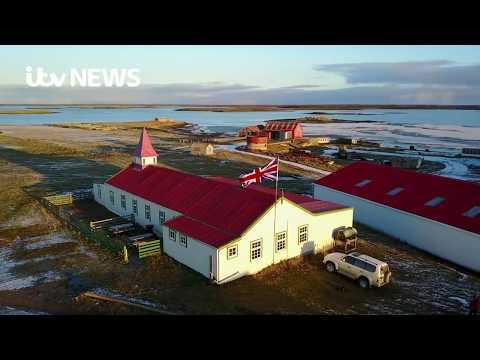 Falklands 35: Drone Footage
