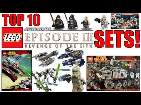 Top 10 LEGO Star Wars Episode 3 Sets! (Revenge Of The Sith!)