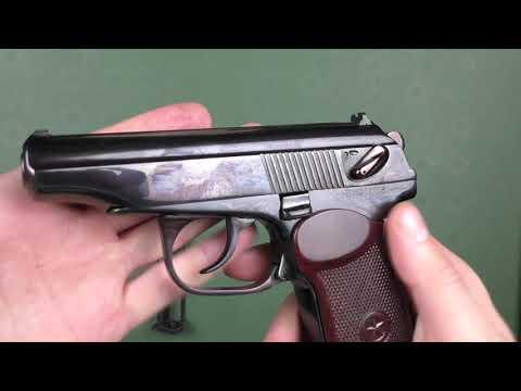 Пневматический пистолет МР 654 К глубокая полировка