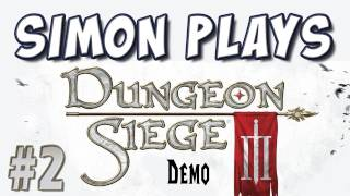 Yogscast - Simon Plays! - Dungeon Siege III Demo Part 2