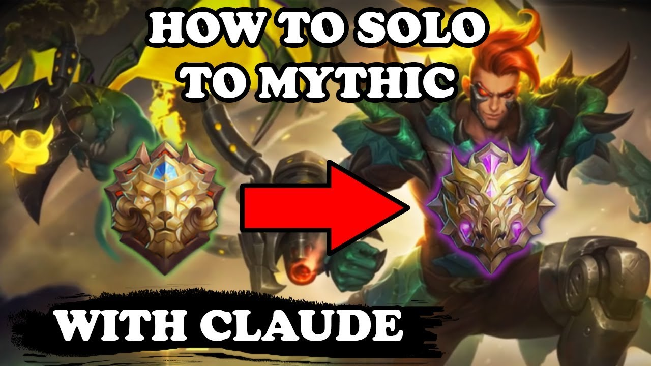 Claude Is The Best MM To Reach Mythic in Solo Q | Mobile Legends Bang Bang