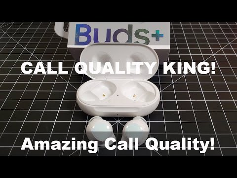 The Call Quality KING! Samsung Galaxy Buds+ Detailed Review | Call Quality Test