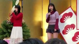 AKB48「ハイテンション」握手会 「HKT48 朝長美桜、田島芽瑠」 気まぐれオンステージ 2017/1/7 幕張メッセ