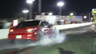 Pontiac Grand GTP Twin Engine Turbo vs Nissan GTR Stock engine +Stock Turbos