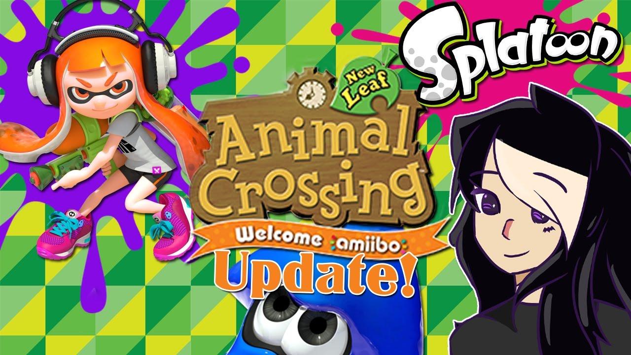 Animal Crossing New Leaf Update Inkling Girl Inkling