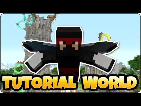 Minecraft TU46 Tutorial World Showcase - PS3, PS4, Xbox One, Xbox 360 & Wii U Edition
