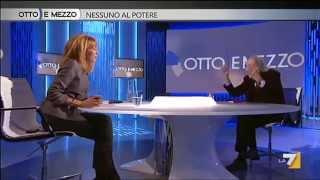 """2012 nov 23 – """"NESSUNO AL POTERE"""" - Otto e mezzo, conduce  Lilli Gruber"""