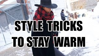 HOW TO LOOK STYLISH IN COLD WEATHER