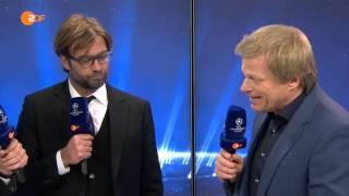 Jürgen Klopp vs. Oliver Kahn: Streit