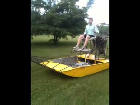 4a084 mini airboat dry - YouTube
