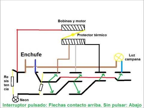Extractor campana cocina Cableado y funcionamiento  YouTube