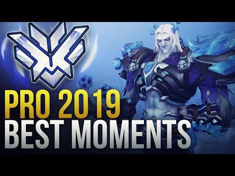 BEST PRO OVERWATCH MOMENTS 2019